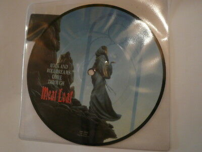 """MEAT LOAF Rock And Roll Dreams Come - 7"""" PICTURE DISC - Virgin VSP 1479 - new!"""