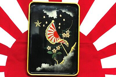 Japanese Army MEMORIAL TRAY for honorable DISCHARGE from Regiment Imperial JAPAN