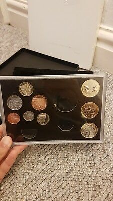 The Royal Mint 2009 Proof Coin Set with Original Packaging No COA