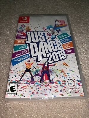 Just Dance 2019 Nintendo Switch Standard Edition Brand New Sealed Video Game