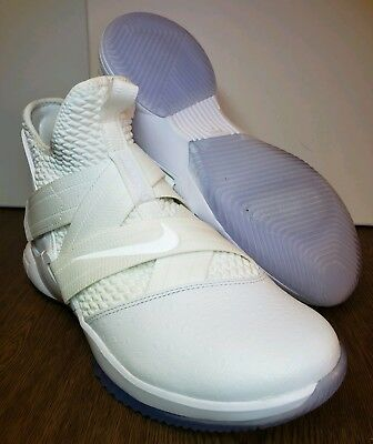 ad3fb8e2e65 Nike LeBron Soldier XII 12 Men s SFG Basketball Shoes (Size 8) White AO4054-