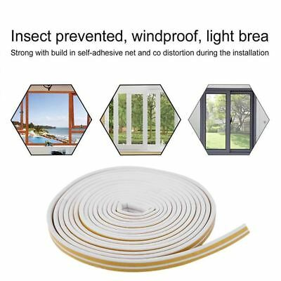 5M Draught Excluder Weather Seal Strip Noise Insulation Door Window Sticky Tape
