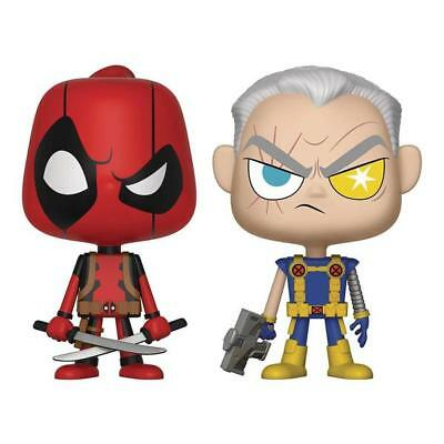 Funko Marvel Vynl Deadpool Cable Figure Set NEW IN STOCK Toys