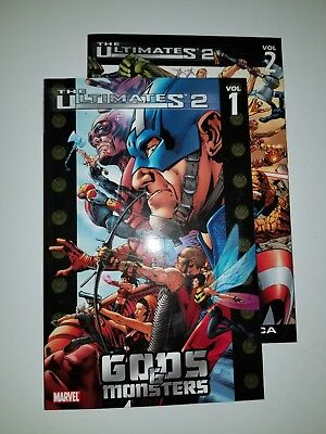 The Ultimates 2 Volume 1&2 softcover Mark Millar Bryan Hitch