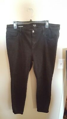 419c308c2ae ANA A new approach Stretch Skinny Jeans Ladies plus 18W Black jegging