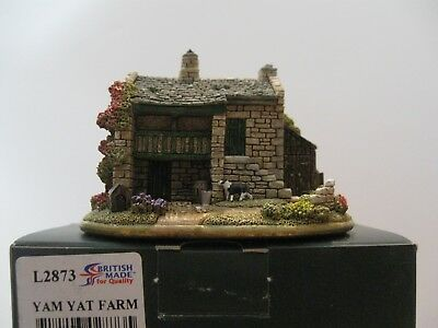 """Lilliput Lane L2873 """"Yam Yat Farm"""" New, in excellent condition with deed, in"""