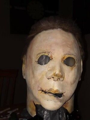 Tots h2 Michael myers halloween mask hero today rehaul one of one
