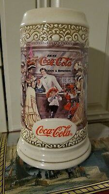 Coca Cola Beer Stein, Coca Cola Glass