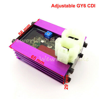 Adjustable 6 Pin Racing CDI Box For GY6 50cc 125cc 150cc Moped Scooter ATV Quad