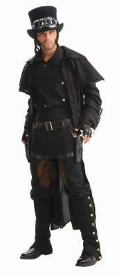 Steampunk Double Thigh Holster Set With Belt Adult Costume Accessory