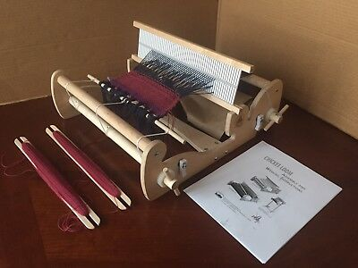 "Schacht Cricket Rigid Heddle Loom 15""  Lightly Used Very Nice!"