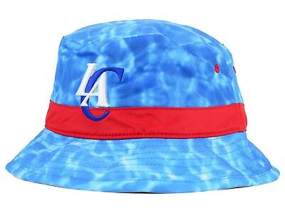 21770721ab5 LOS ANGELES CLIPPERS Mitchell   Ness NBA BIG WAVE BUCKET HAT BLUE SURF  LARGE XL