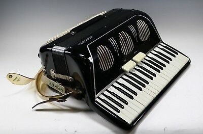 Vintage Galanti Bros Ny Accordion Musical Instrument - Italy