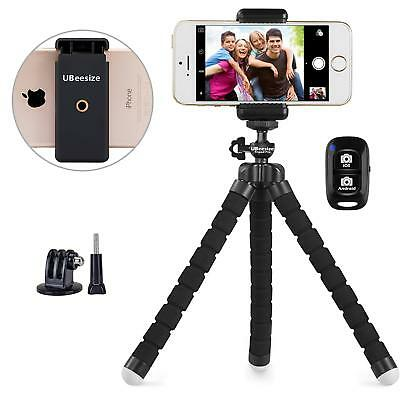 UBeesize Portable & Adjustable Phone and Camera Stand Holder w/Bluetooth Remote