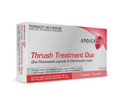 Thrush Treatment Duo (1 Capsule+ 10 G Tube)