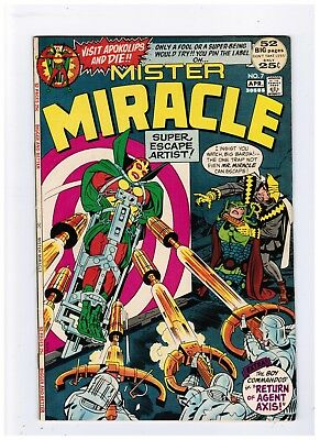 Mr Mister Miracle #7 First Appearance Harassers Bronze Age Key Vf/nm