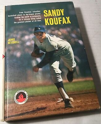 1966 1st Edition 1st Printing EXCELLENT CONDITION SANDY KOUFAX HC BOOK DODGERS
