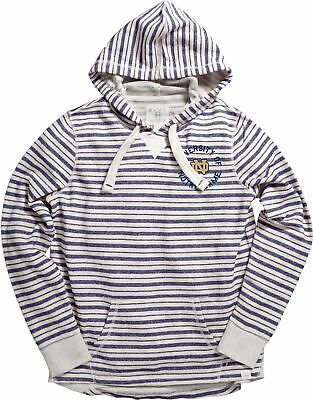 Blue 84 NCAA Mississippi Old Miss Rebels Women's French Terry Pullover Hoodie...