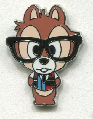 CHIP Wearing Glasses - Nerds Rock Collection Disney Pin