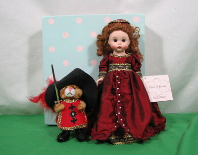 """Madame Alexander """"puss'n Boots"""" Doll 8"""" Tall 46490 With Original Box Good Cond"""