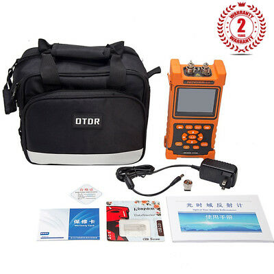 "Hand-held Optical Time Domain Reflectometer NK2000 OTDR 3.5"" LCD Display SZ"