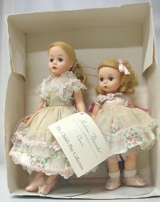 Rare Madame Alexander Mommy and Me At Home Doll Set- Accessories, Box, COA 1997