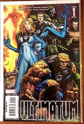 Ultimatum #1 (Iconic Ultimate Universe, Multiple Deaths, World Changing)