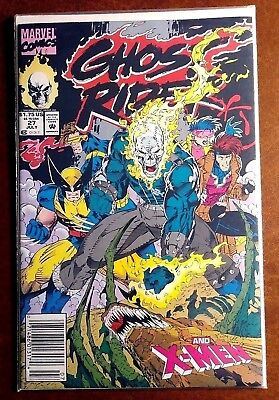 Ghost Rider v2 #27 (Blaze and Ketch!, X-Men, 1992, Awesome!)