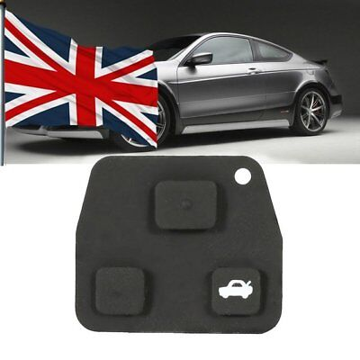 3 Button Car Remote Key Fob Rubber Pad For Toyota Avensis Corolla Lexus UK