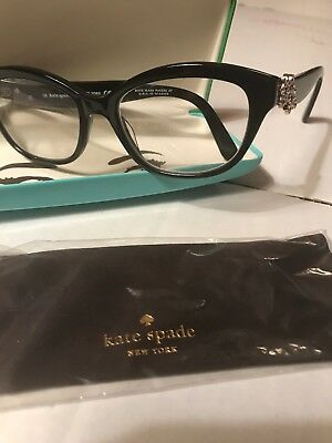 f08eb05b295 KATE SPADE Eyeglasses AMELINA 0807 Black 51MM With Case And Cloth No Tags