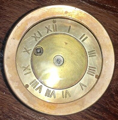 Antique WWII Chelsea Brass Ships Clock