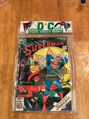 DC SUPER STARS 2 Issue Sealed Pack SUPERMAN 311 & FLASH 252 (Aug 1977) NM A-8