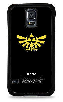The Legend of Zelda iForce  - Black Yellow Cell  Case for S5 New in Package