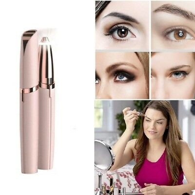 Cleanse Eyebrow LED AU Brow Hair Remover Face of Electric Finishing Touch Golden