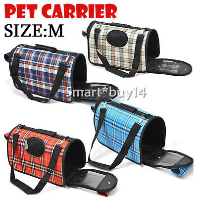 Pet Cat Dog Carrier Crate Portable Travel Cage House Kennel Bag Handbag Car Seat