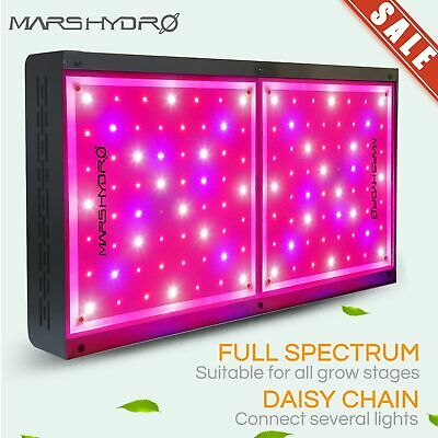 Mars Hydro ECO 600W Led Grow Light Full Spectrum Hydroponics Indoor Plant Grow