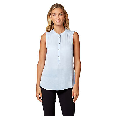 NEW Jeanswest Womens Tessa Sleeveless Shirt Original