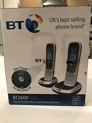 Bt2600 Twin Cordless Digital Phone With Answer Machine