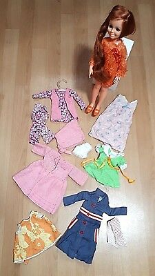 Ideal Crissy Vintage Doll Grow Hair Original Dress, Shoes & Outfits 1960's VGC