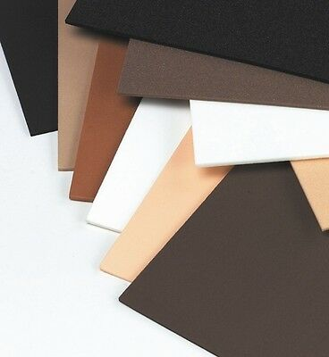 10 SHEETS OF SKIN/ANIMAL TONES FUNKY FOAM: 2 SHEETS OF 5 COLOURS: 166mm x 166mm