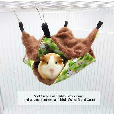 Soft Pet Small Animal Hammock Hanging Bed House Cage for Rat Hamster Guinea Pigs