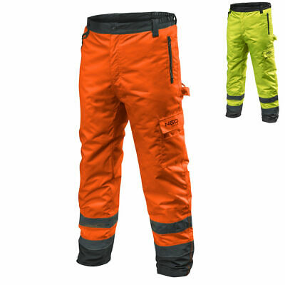 Profi Thermo Safety Trousers en 20471 Warning Pants Winter Work Protection