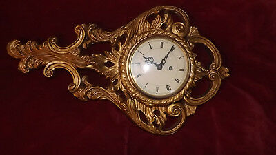 Atsonia Ornate Case With Smiths 8 Day Clock
