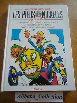 Bd * Pieds Nickeles 28 * Collection Integrale Blanc Vents Ouest Album Lot Pellos