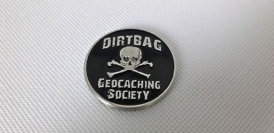 North Georgia Dirtbag Geocaching Society Geocoin  (Unactivated)