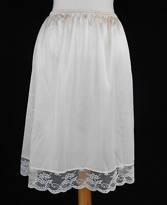 Euc Women's Clothing Clothing, Shoes & Accessories Vanity Fair Womens White Half Slip With Lace Trim Size M