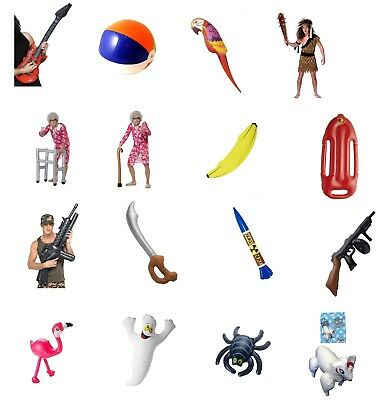 Inflatable Banana 162cm Costume Fancy dress Party Accessory Prop Hawaiian