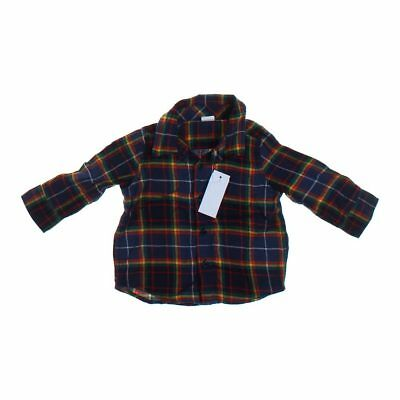 babyGap Baby Boys Shirt, size 18 mo,  yellow, red, blue/navy,  cotton
