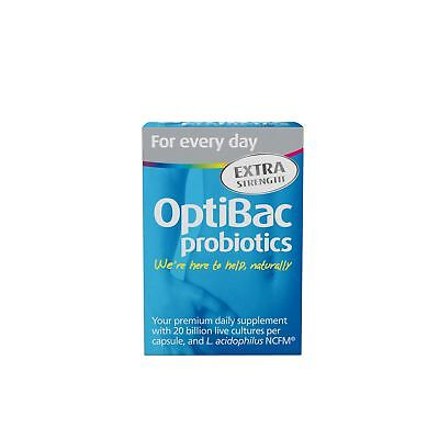 OptiBac Probiotics | For Every Day Extra Strength | 30 Capsules
