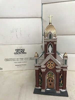 Dept. 56 Christmas in the City - HOLY NAME CHURCH - 58875 - MINT